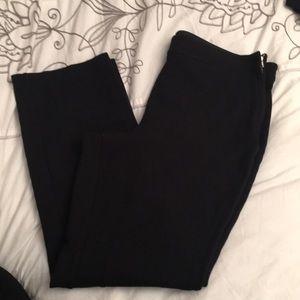 Talbots black heritage stretchy pants 16